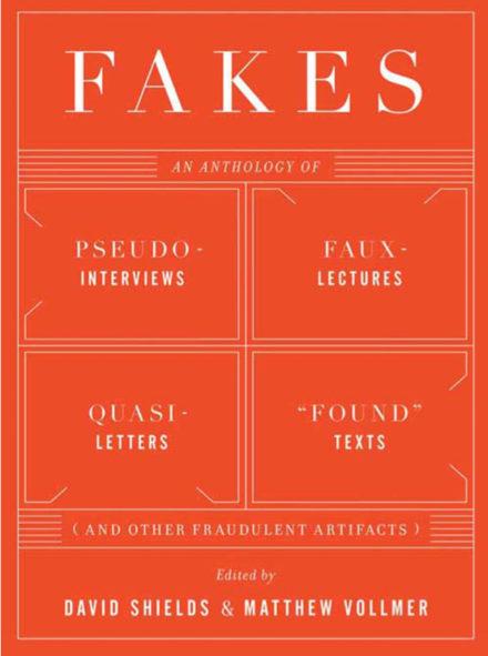 David Shields: Talking Fakery