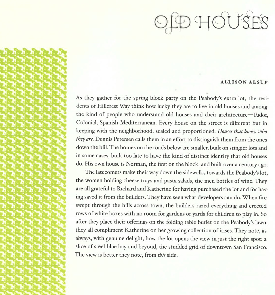 Alsup Old Houses